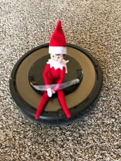 Elf on a Roomba